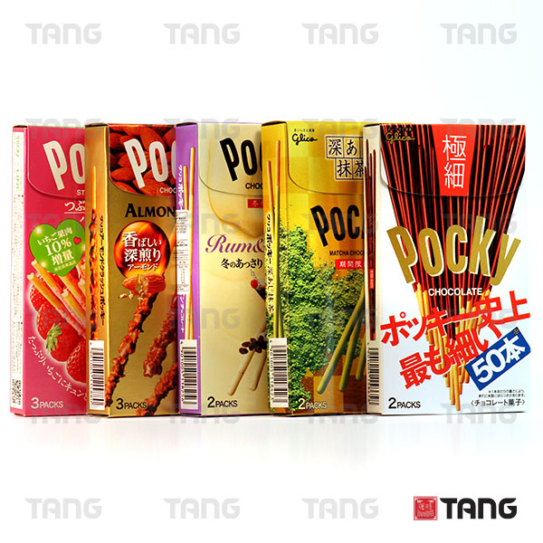 Pocky Chocolate Range